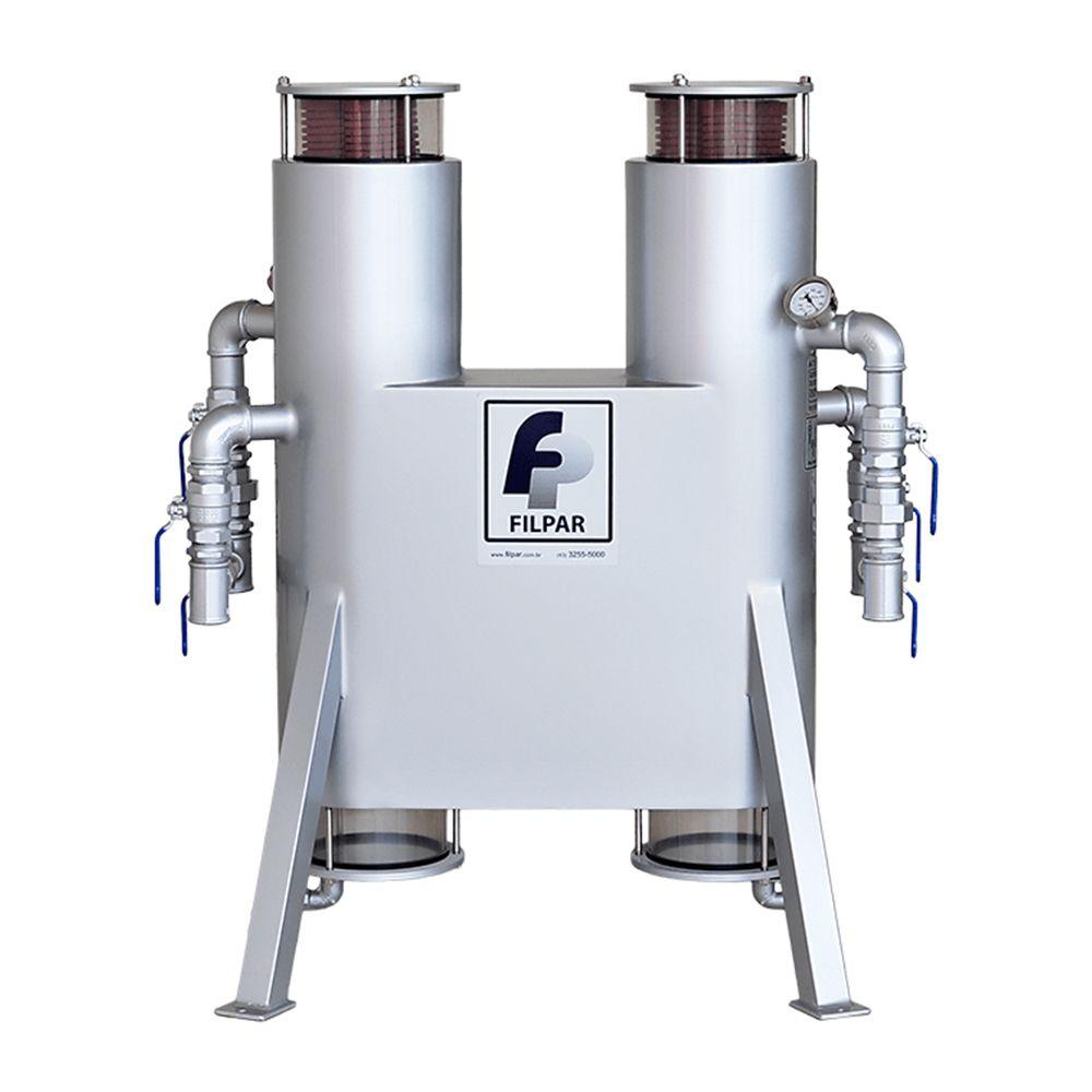 Filtro de Linha Desidratador p/ 02 Bombas (Foguetinho) | Diesel | FP1000D - Filpar