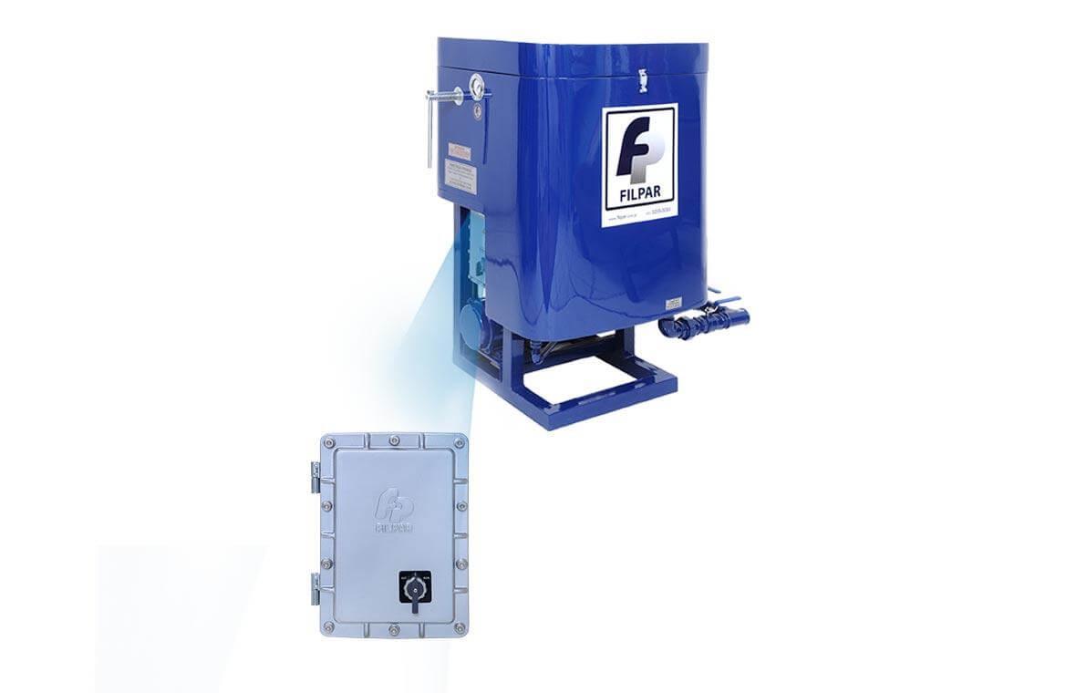 Filtro Prensa Mod. PISTA p/ Óleo Diesel - 9.000L/H - FP-III