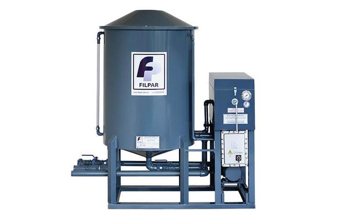 Filtro Prensa p/ Óleo Diesel - 6.000 L/H