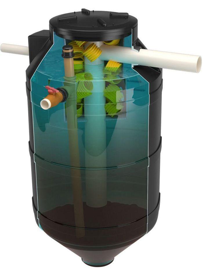 Fossa Pronta Biodigestor Acqualimp - 1300 Litros
