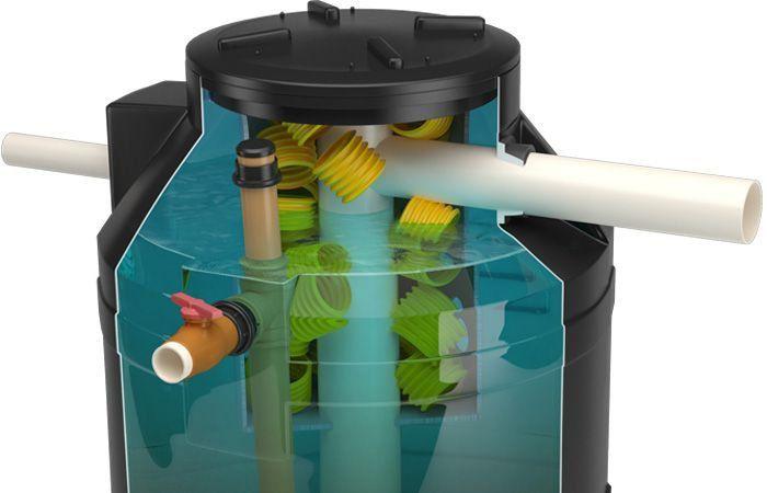 Fossa Pronta Biodigestor Acqualimp - 3000 Litros