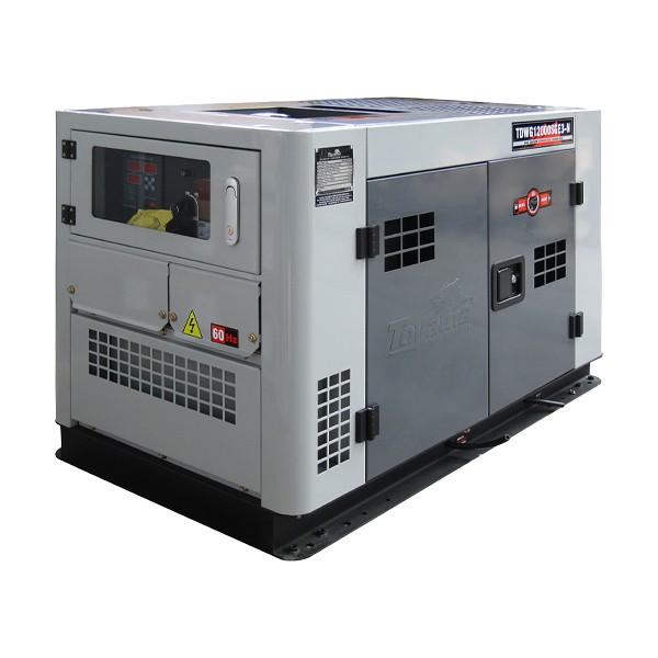 Gerador TDWG12000SGE3 Diesel 12.6KVA 380V Trif. Cabinado