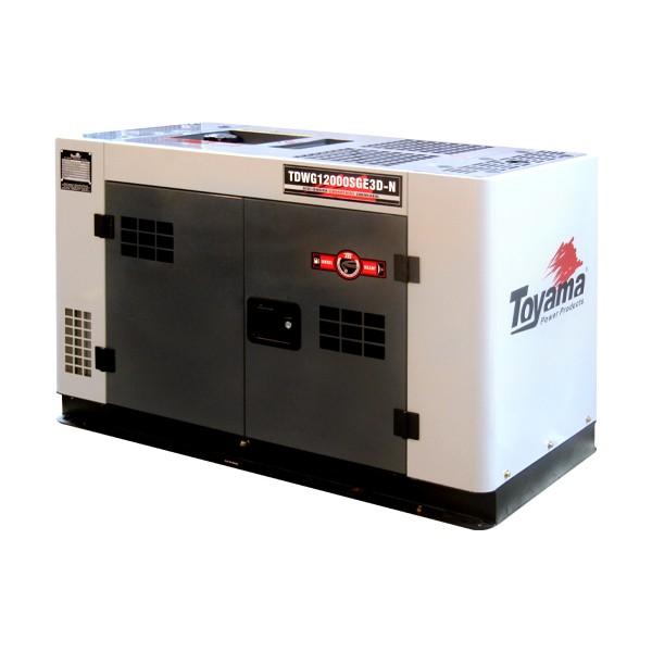 Gerador TDWG12000SGE3D Diesel 12.6KVA 220V Trif. Cabinado