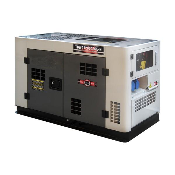 Gerador TDWG12000SGE Diesel 10KVA Bi-Volt Mono Cabinado