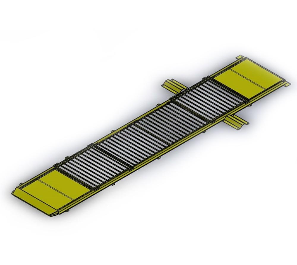 Kit Cobertura para Vala de Troca de Óleo - Amarelo