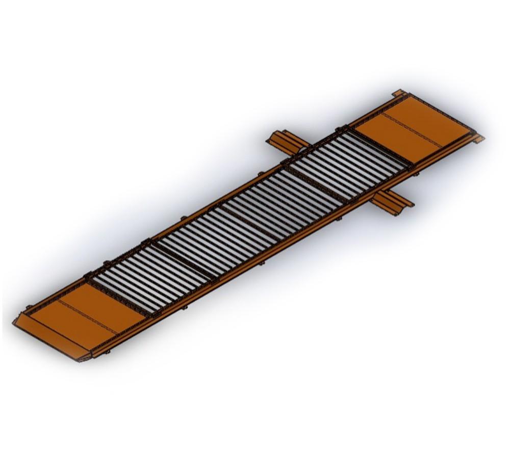 Kit Cobertura para Vala de Troca de Óleo - Laranja