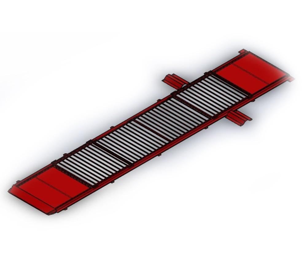 Kit Cobertura para Vala de Troca de Óleo - Vermelho