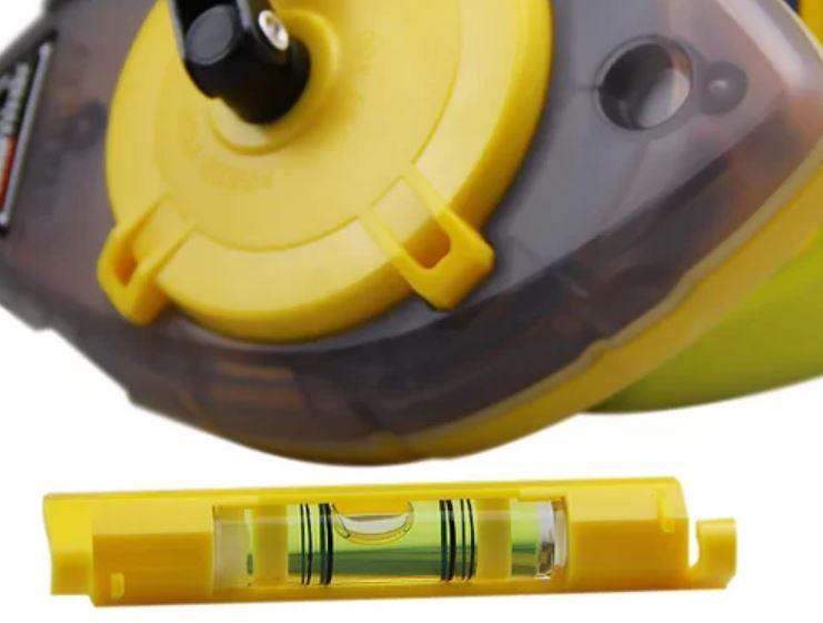 Kit Marcador Tira-Linhas 30m c/ nível - Stanley