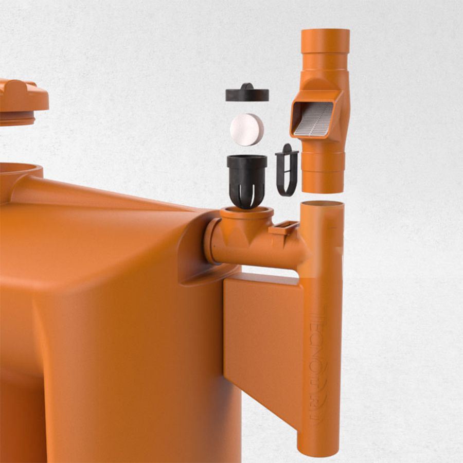 Kit p/ Reúso de Água - 1000L - Cisterna Externa