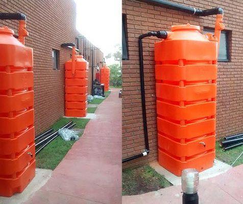 Kit p/ Reúso de Água - 1050L - Cisterna Externa