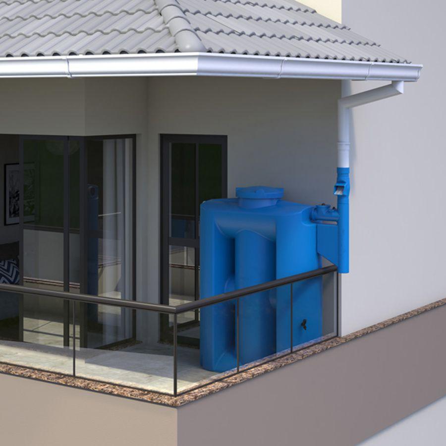 Kit p/ Reúso de Água - 600L - Cisterna Externa
