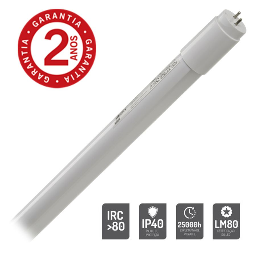 Lâmpada Tubo LED G3 - Vidro