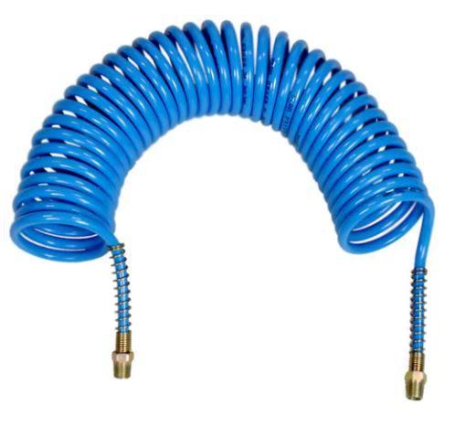 Mangueira Espiral para Ar Comprimido 8x6mm - 10 metros