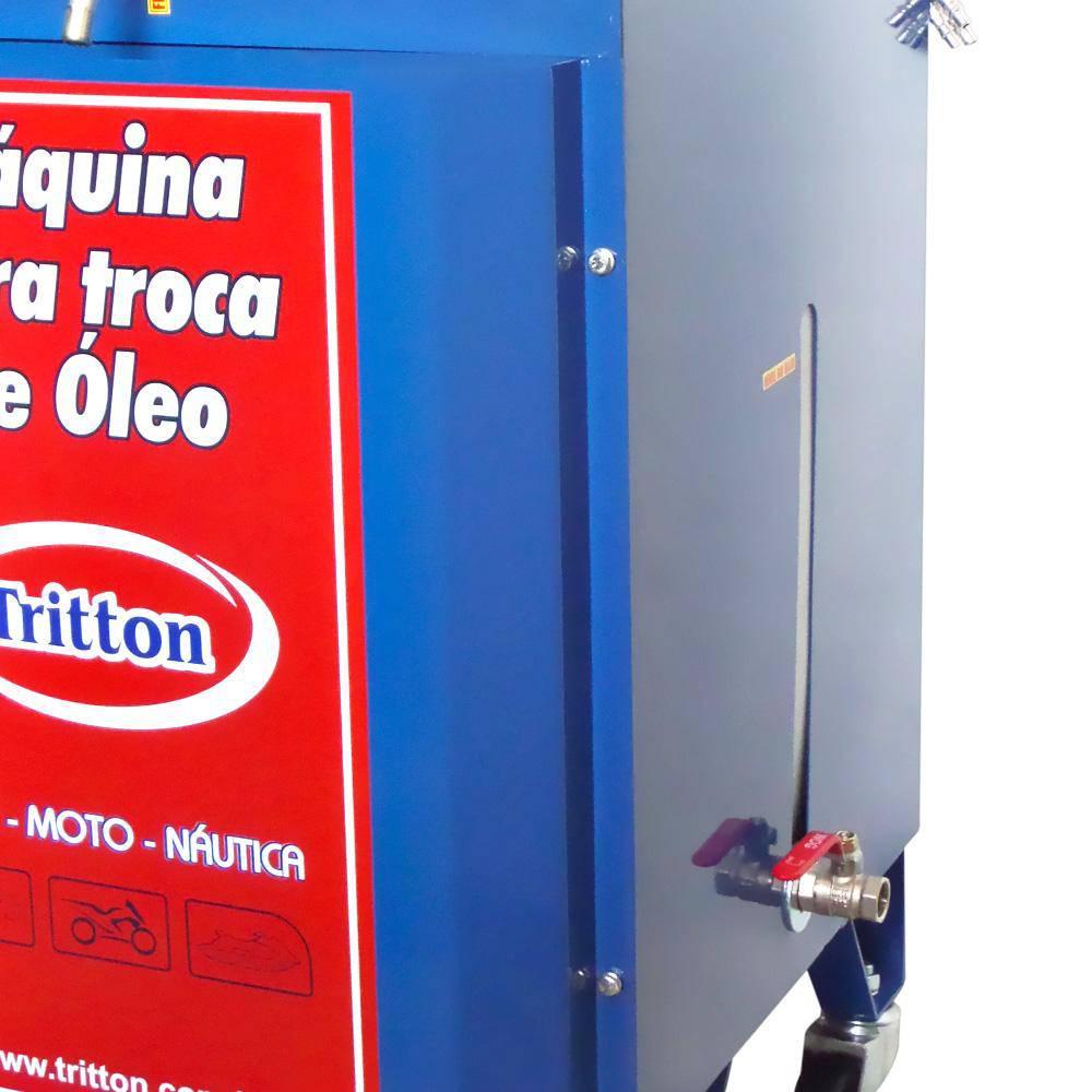 Máquina p/ Troca De Óleo A Vácuo - 220V