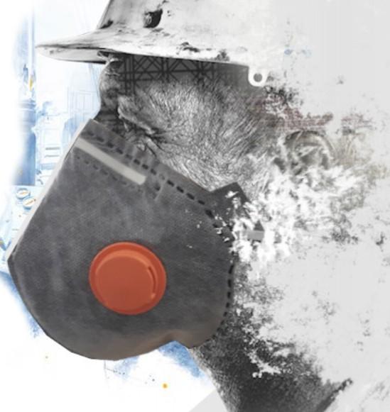 Máscara (Respirador) PFF-2 com Válvula - Plastcor