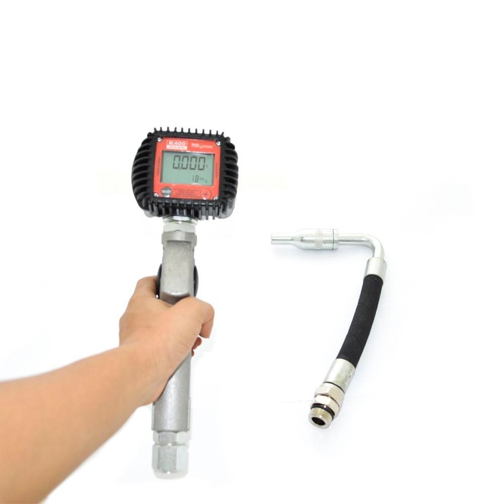 Medidor Digital c/ Gatilho e Bico Antigotejante