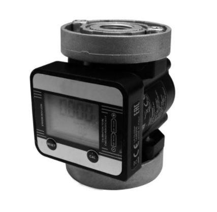"Medidor Digital p/ Diesel e Lubrificante 3/4"" - 60Lpm"