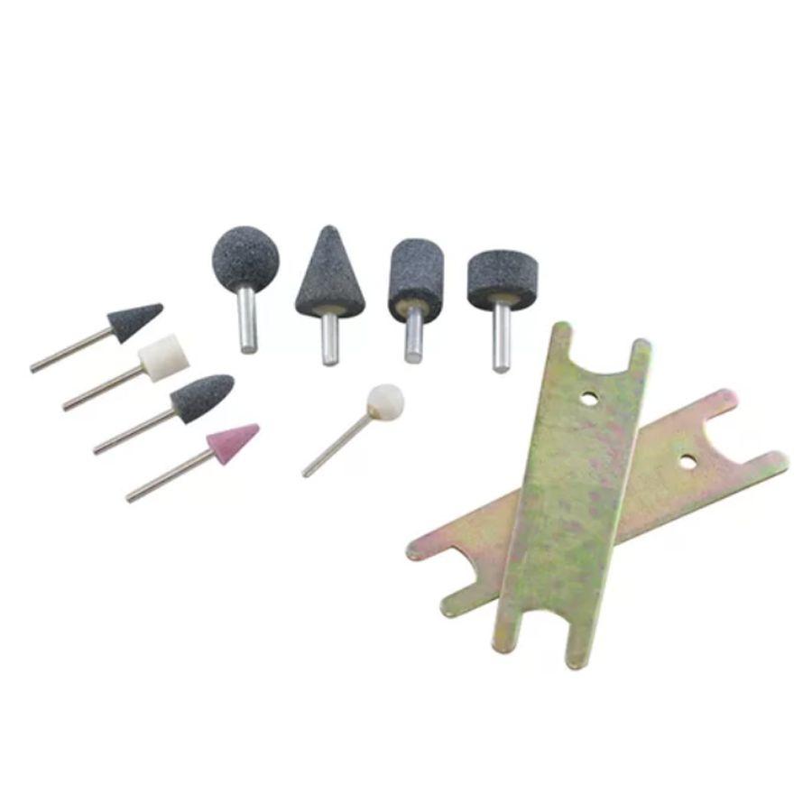 Mini Esmeril Pneumática c/ Acessórios - Retífica
