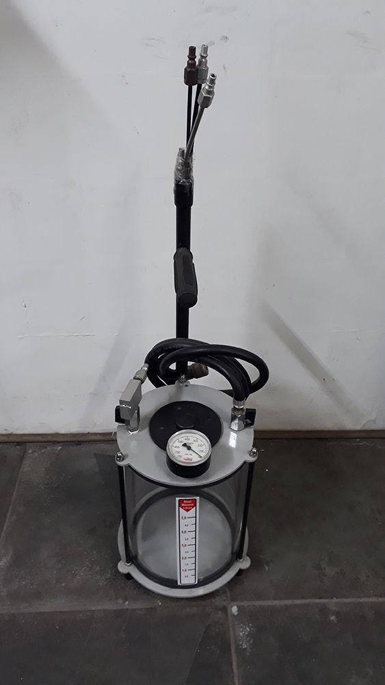 Mini Troca de Óleo à Vácuo Portátil Ar Comprimido - Motorvac