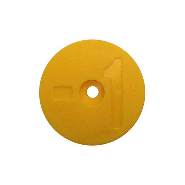Número Amarelo Identificador de Tanque - 1 a 8