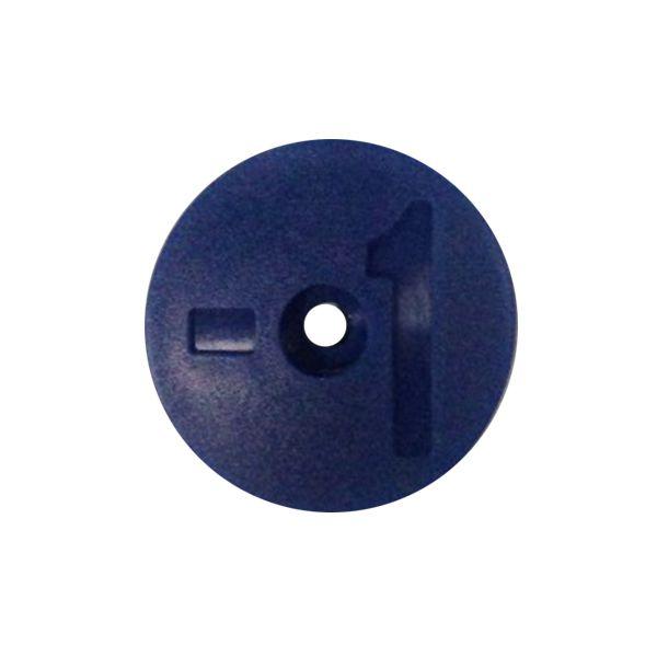Número Azul Identificador de Tanque - 1 a 8