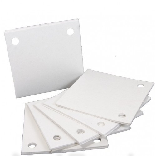 Papel Filtrante Quadrado 7x7 com 2 Furos (10KG)