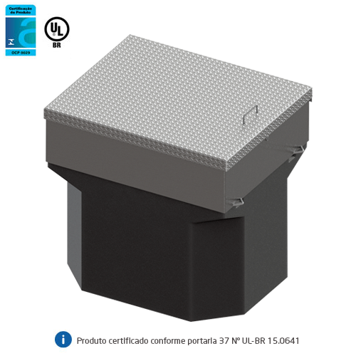 Reservatório de Contenção p/ Filtros de Diesel - Sump de Filtro