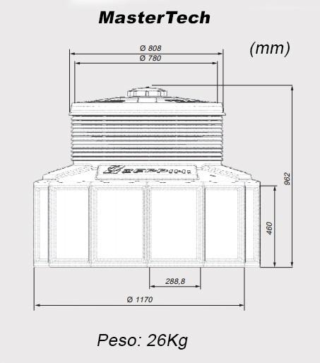 Reservatório de Contenção para Tanques - Sump