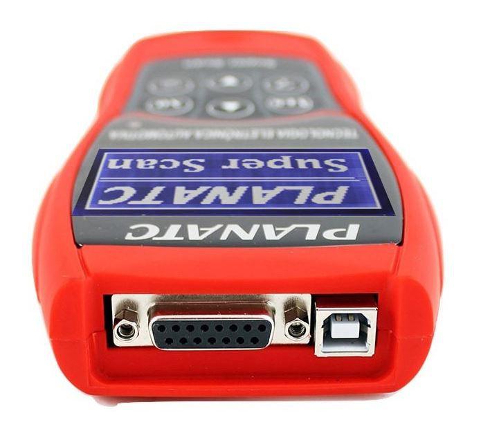 Scanner Automotivo Portátil c/ Várias Funções Super Scan - Planatc