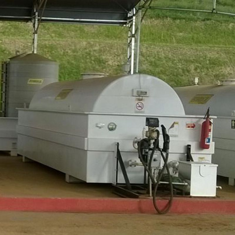 Tanque c/ Módulo de Abastecimento - Skid