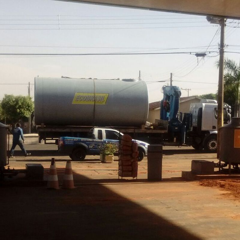 Tanque Jaquetado Subterrâneo p/ Postos de Combustíveis