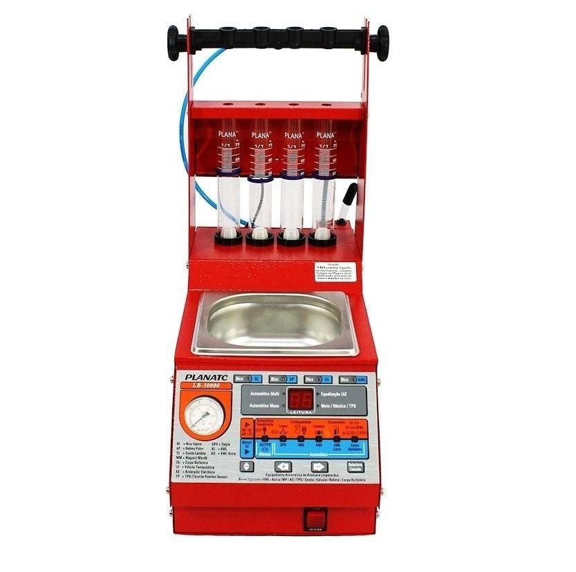 Teste e Limpeza de Bicos Injetores c/ Cuba de 1L + Funções - Planatc