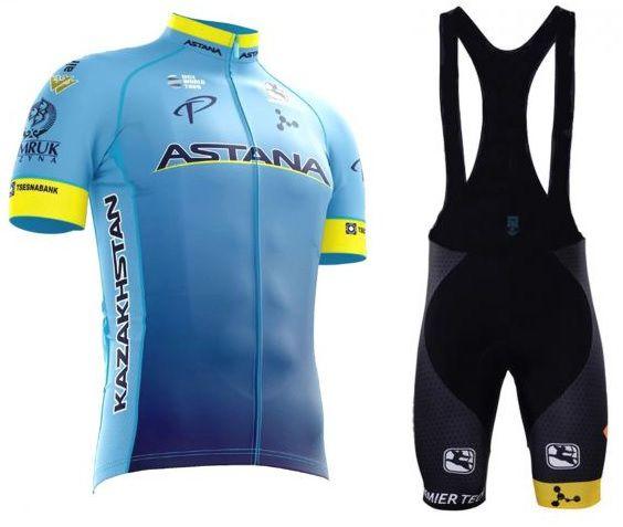 c431867e0b Uniforme Ciclismo Astana - Refactor Camisa e Bretelle World Tour