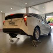 Rampa Expositora Para Carros 22cm de Elevação Capacidade 2.000Kg (Par) Maki REF. 322