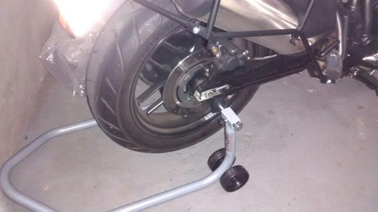 Cavalete para Balança Traseira de Motos - Modelo Universal - Maki