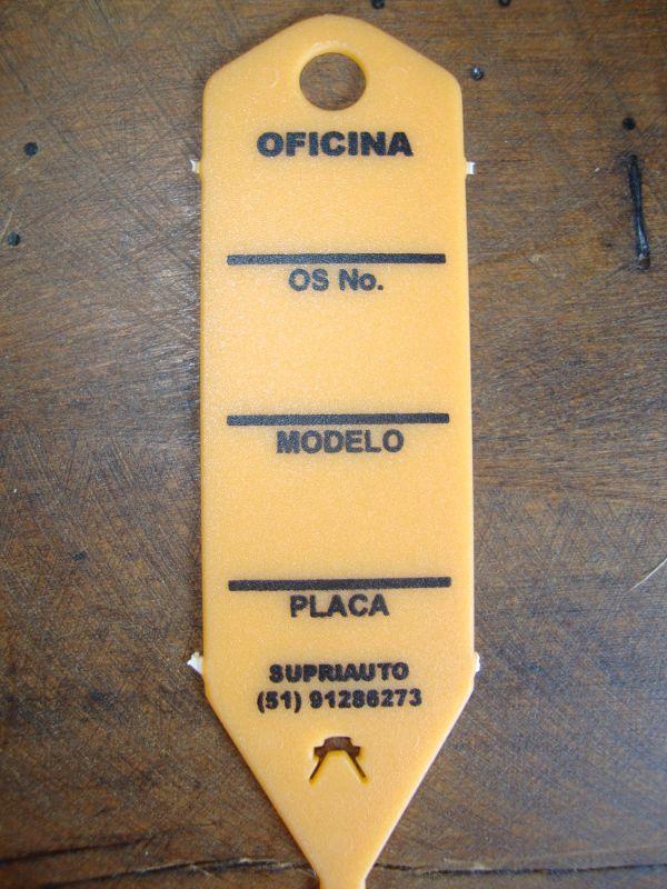 Etiquetas Para Identificação Oficina Mecãnica - Etiqueta Chaveiro - Maki