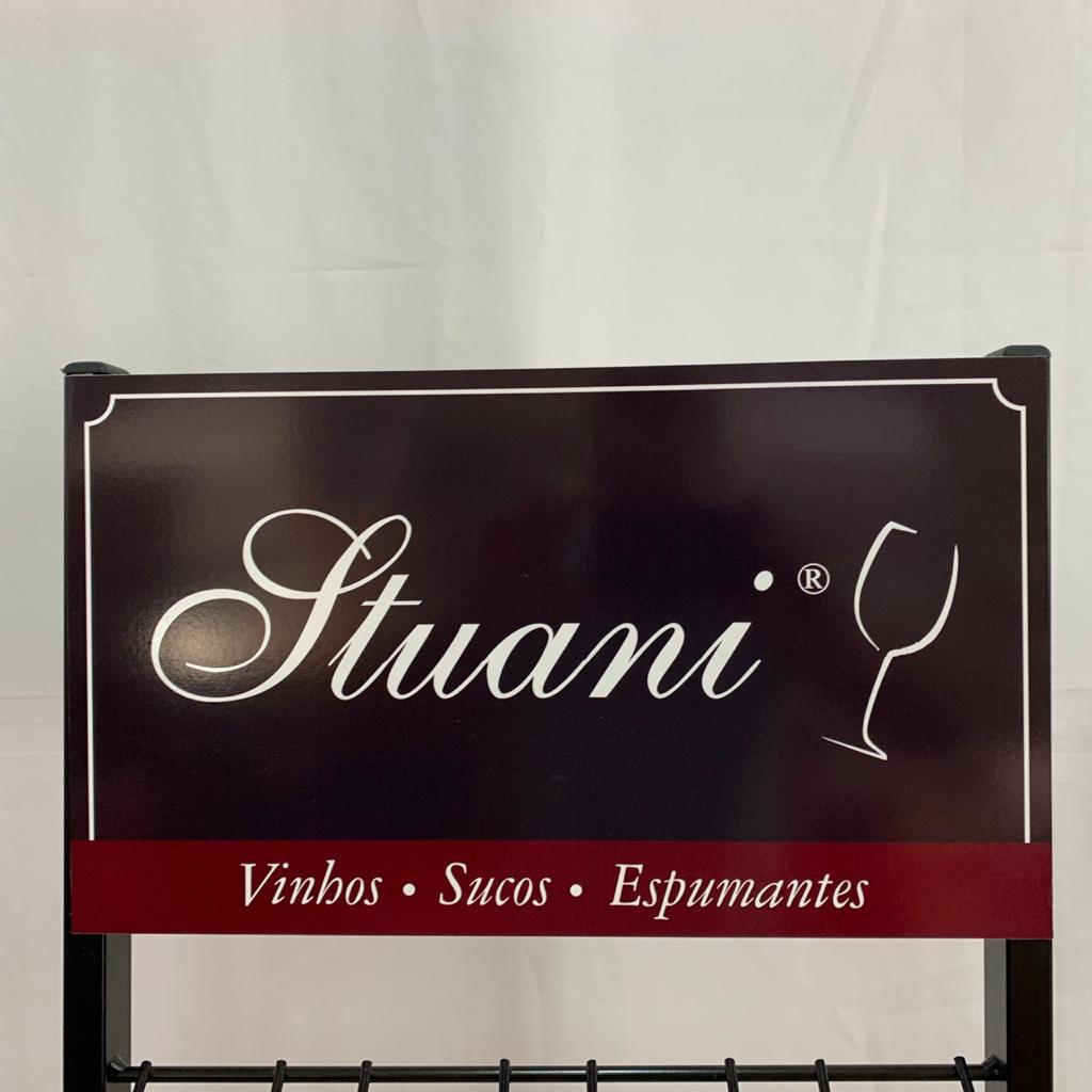 Expositor Para Garrafas de  Vinhos e Espumantes