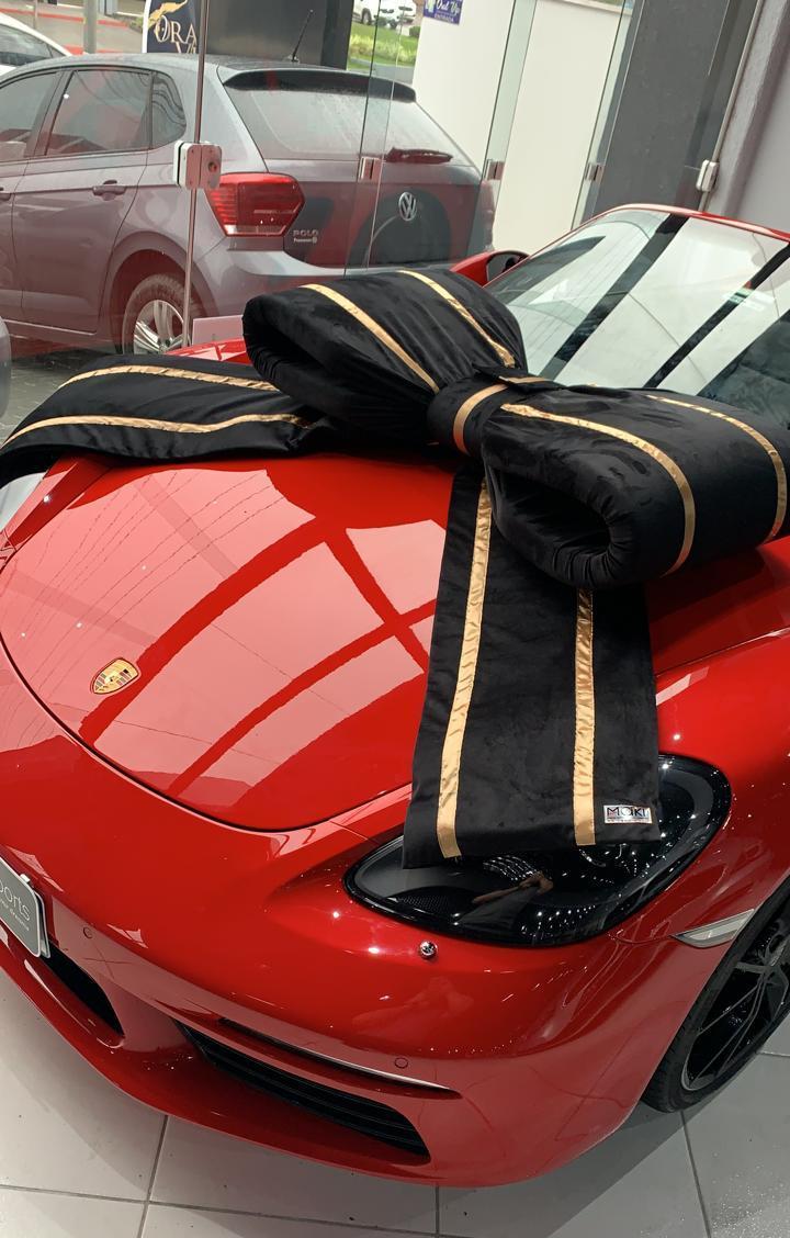 Laço - (Tope) - Automotivo Médio Decorativo Para-Brisa dos Carros - Maki