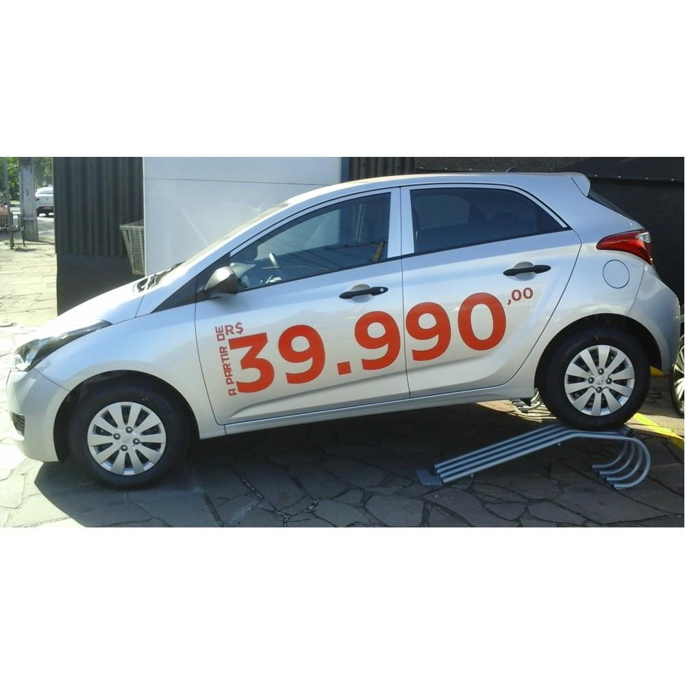 Rampa Expositora Para Carros 30cm de Elevação Capacidade 3.000Kg (Par) Maki - Ref. 03