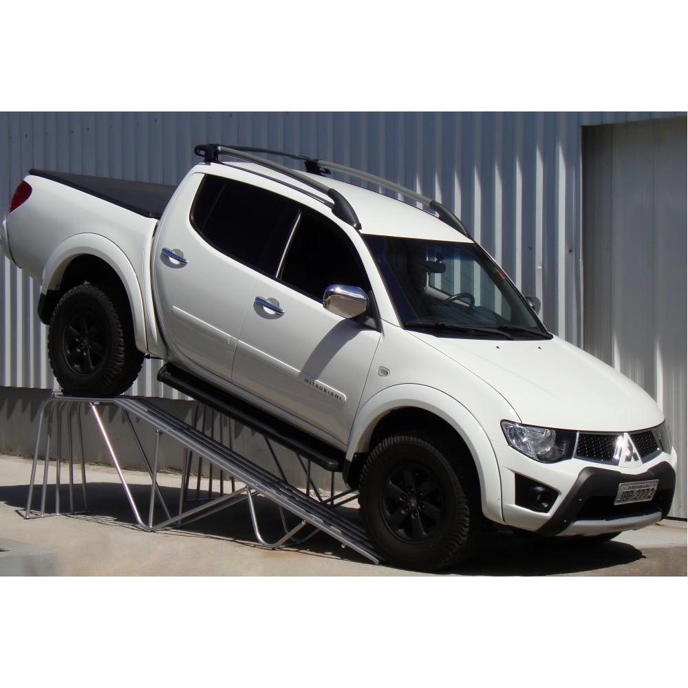 Rampa Expositora Para Carros 1,00mt de Elevação Capacidade 3.000Kg (Par) Maki - Ref. 300