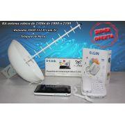 Antena Rural De 24dbi + Roteador 3g + Telefone De Mesa
