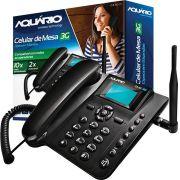 Celular Telefone De Mesa 3g Aquario Rural Ca-40 Desbloqueado