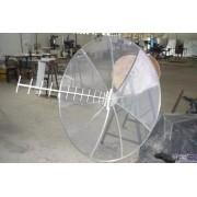 Kit Antena De Alto Ganho De 35dbi De 850 - 900 - 1800 A 2100 Mhz