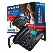 Telefone Celular Rural Aquário Dual CA-42 Preto