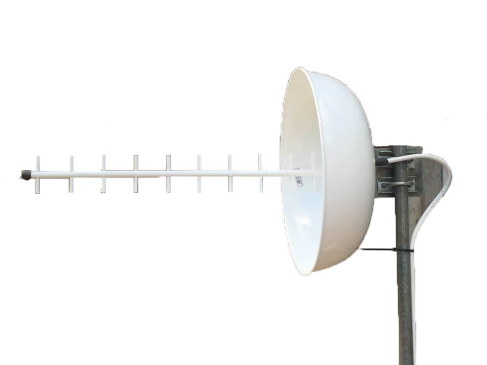 ANTENA CÚBICA 24 dBi - 1800/2100mhz