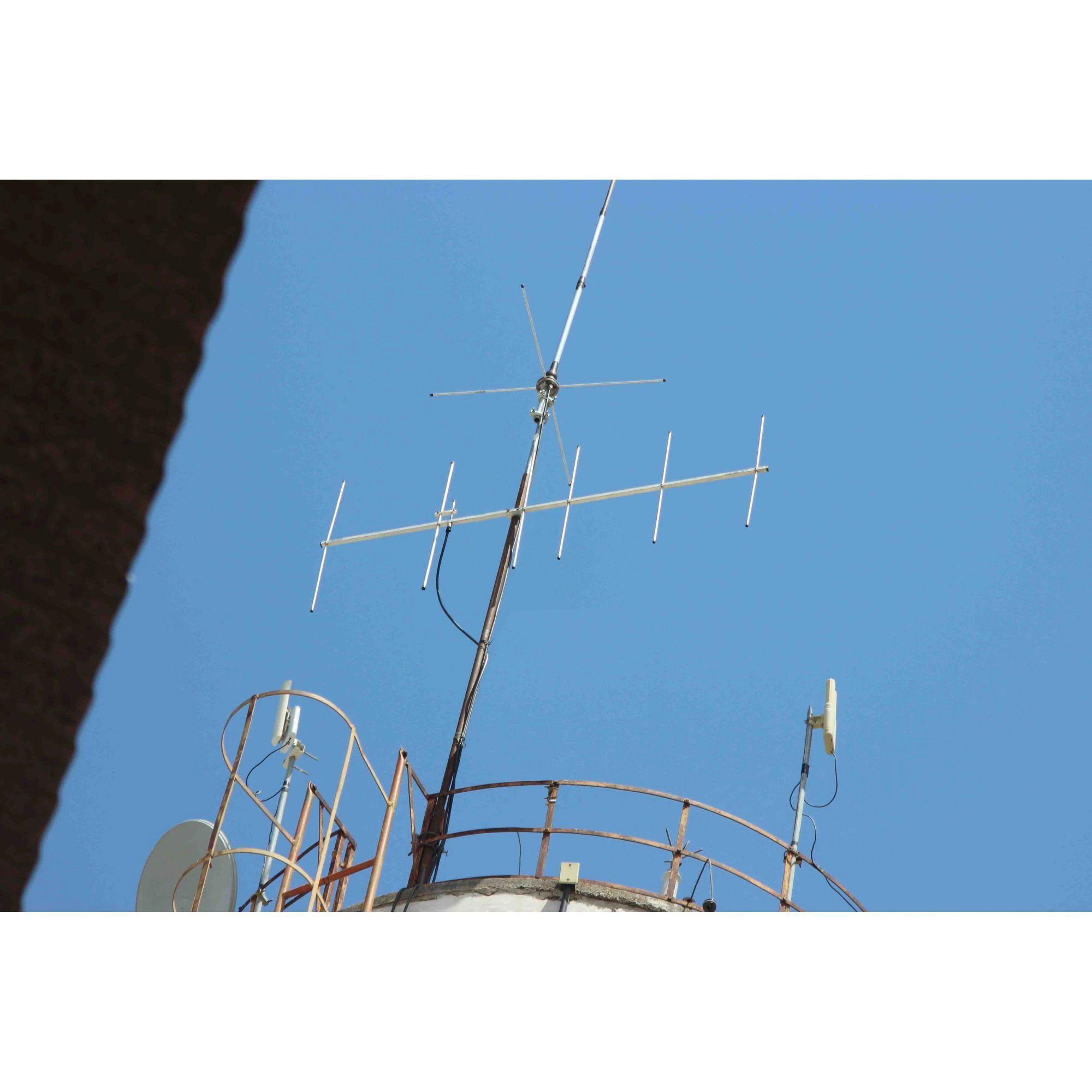 ANTENA VHF DIRECIONAL 6 ELEMENTOS - 2MT 12DBI