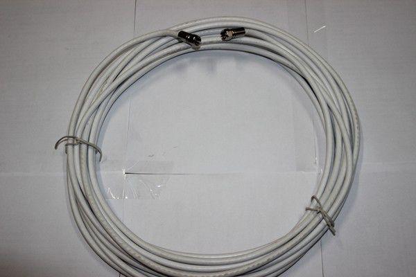 Cabo Coaxial Rg6 Com Conector FT/FT 10 Met