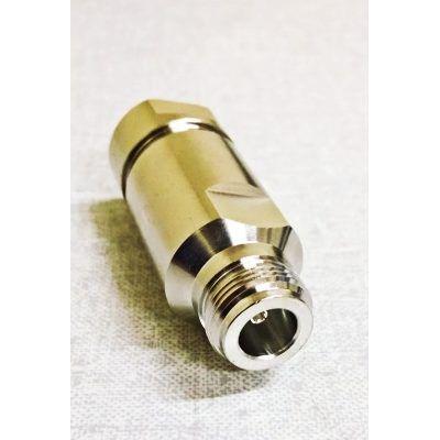 Conector Coaxial Tipo N Fêmea P/ Cabo Corrugado 1/2
