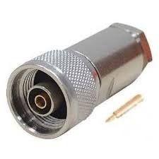Conector Coaxial Tipo N Macho Para Cabo Rgc 213 /11 (com 10)