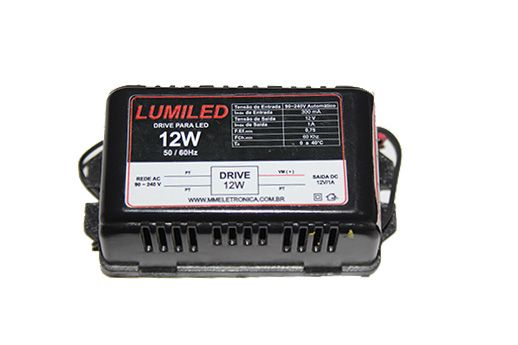 Fonte Para Led Lumiled 12W